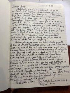 handwriting practice homework
