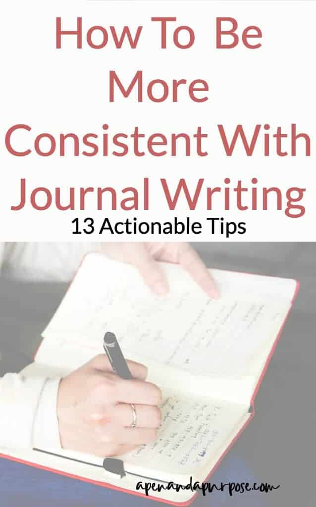 How To Write a Journal Entry (Nearly) Daily:  13 Tips