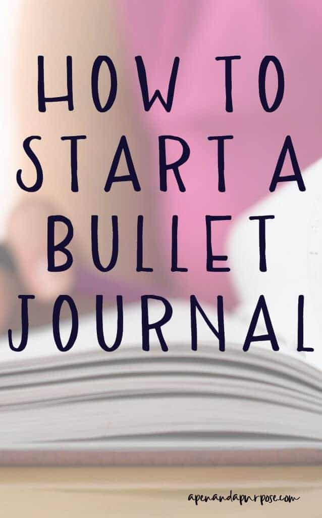 how to start a bullet journal even if you are not artistic. Bullet journals allow flexibility, making them the ultimate planner