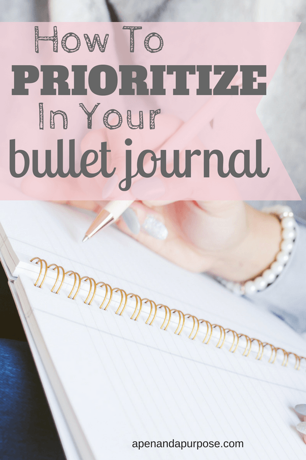 Bullet Journal To Do List:  How To Prioritize Your Tasks