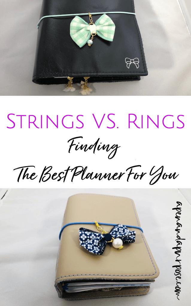 Rings Versus Strings: Which Planner is Best?