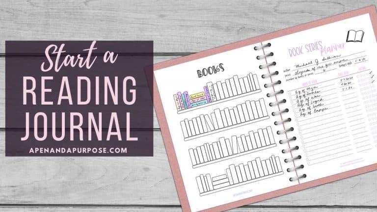 Start a reading journal
