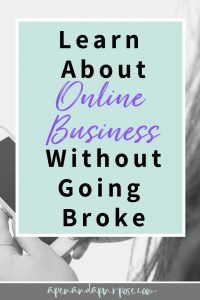 Learn about online business without going broke. Creative Live Review