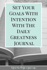 A review of The Daily Greatness Journal