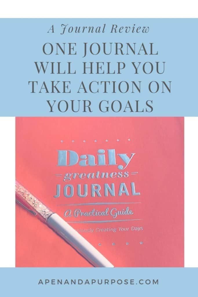 Daily Greatness Journal Review for those who want to be mindful about their days.