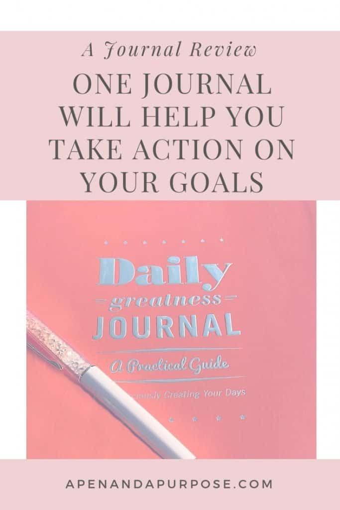 Daily Greatness Journal review for people who want to be mindful of how they spend their days.