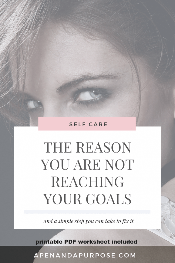 the reason you are not reaching your goals: inner mean girl