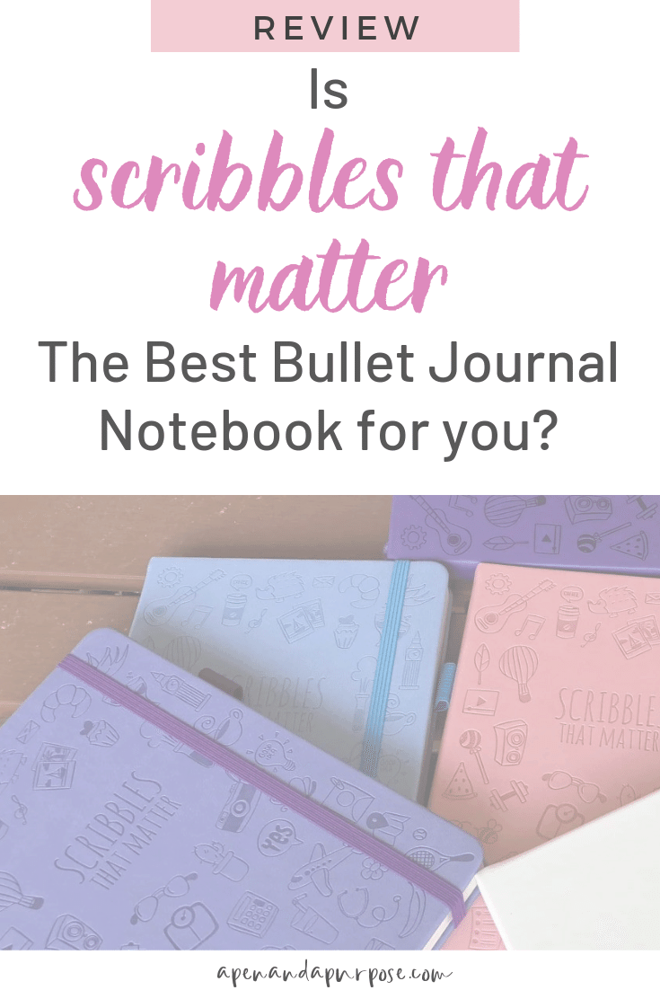 An honest review of Scribbles That Matters Bullet Journal Notebook