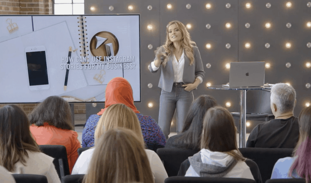 Sign up for the Creator Pass on Creative Live and watch Jasmine Star's Social Media Bootcamp Training
