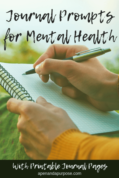 21 Journaling Prompts for Mental Health and Self Discovery