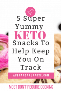 Keto snakc ideas to keep you on track. I found some of the best snacks for keto diet including sweet and crunchy keto snacks!