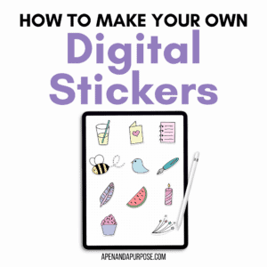How to Make Your Own Digital Stickers