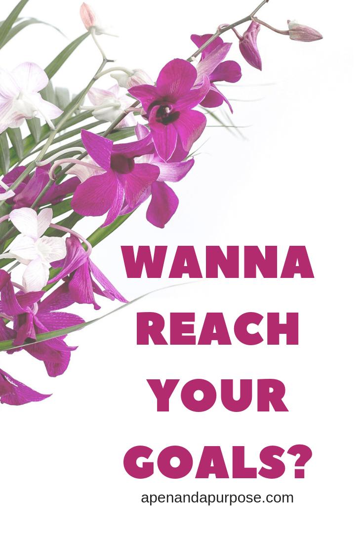 Wanna reach your goals? Reach even your big hairy audacious goals.