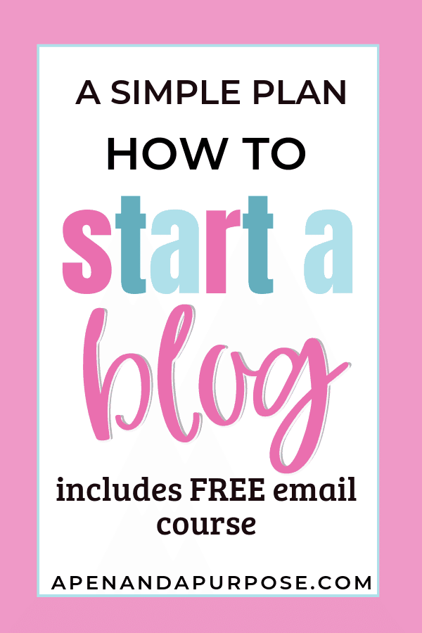 How to start a blog for beginners. This post will help you start a blog by getting a WordPress blog up and running on Siteground. Included is an email course that will teach you how to plan what to write, how to make money on your blog, and how to promote your blog #blogging #blog #wordpress #siteground