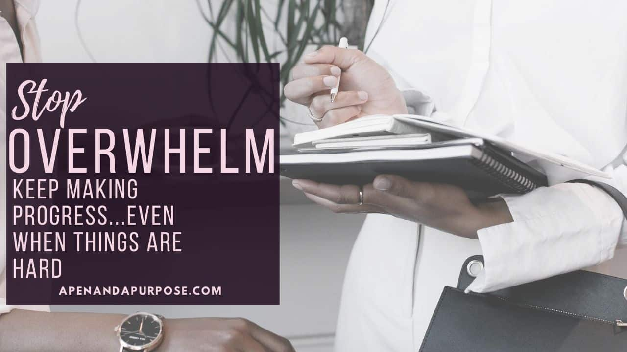 Stop Overwhelm in Your Business