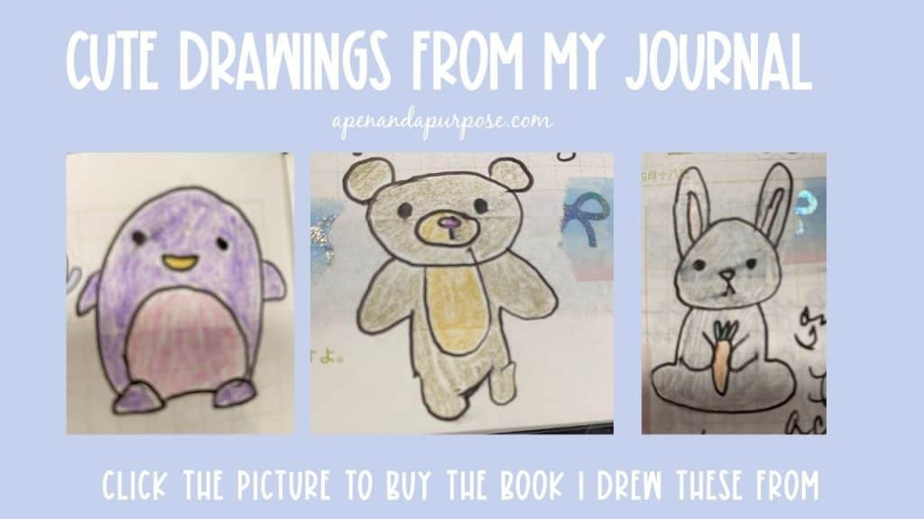 Cute drawings form my journal