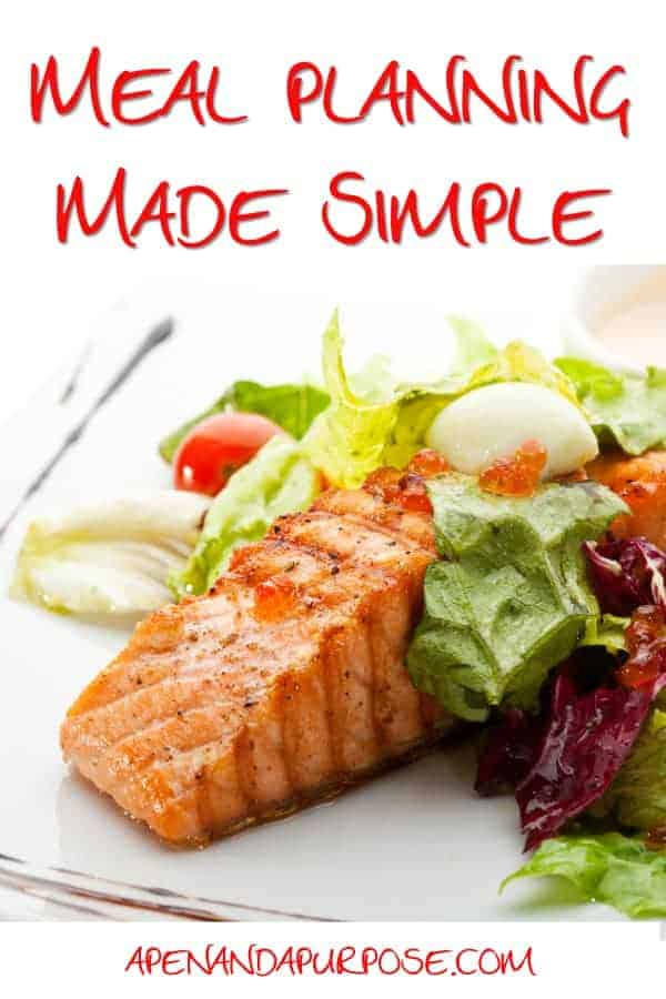 Meal Planning Made Simple with Emeals: Salmon Steak with a Crispy Green Salad