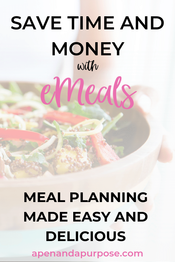 Do you want to save some time on picking out meals throughout your week? With eMeals you get a weekly menu planned out for you. When shopping from the app you even can skip going to the store and have the items shopped for you or have them delivered to your house! There is a ton of variety and you can change meal plans as often as you like. #emeals #emealsreview #weeklydinnermenu #mealplan