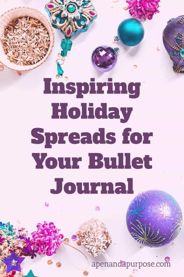 Inspiring Holiday Bullet Journal Ideas: Christmas Bullet Journal Ideas